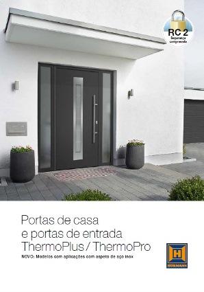 Teaser Portas de casa e portas de entrada ThermoPlus ThermoPro