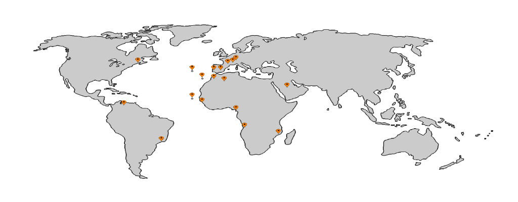 mapa mundo armaro